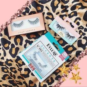✨ 3/$25- 3 Bundle of False Eyelashes